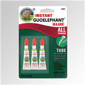 3 Piece of New Guoelephant Glue Instant All-Purpose Formula Gel 9 gms Size
