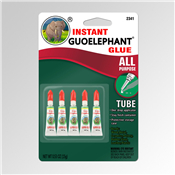 5 Piece of New Guoelephant Glue Instant All-Purpose Formula Gel 15 gms Size