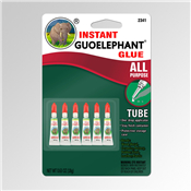 6 Piece of New Guoelephant Glue Instant All-Purpose Formula Gel 18 gm Size