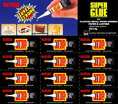 alteco 3g black super glue